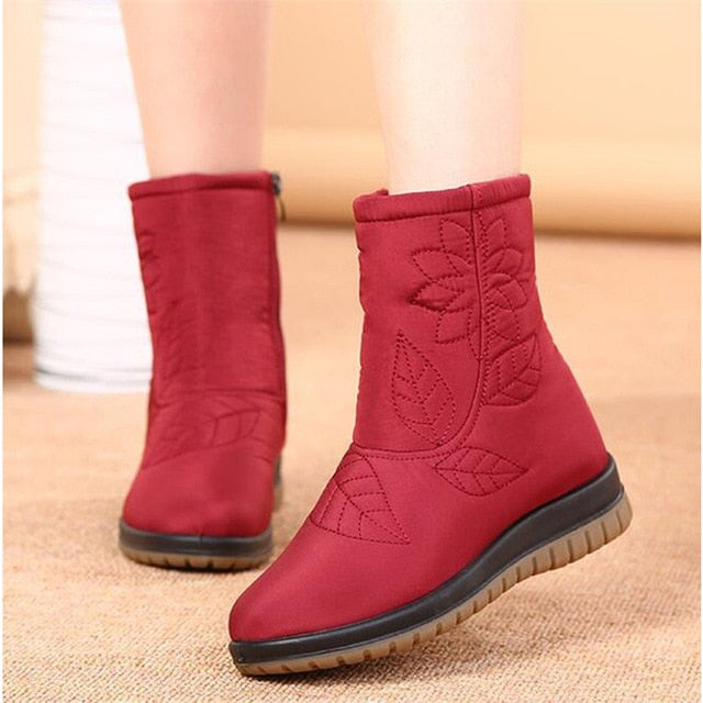 Women Boots Winter Shoes Women Plus Insole Snow Boots Fur Ankle Boots for Women Waterproof Winter shoes