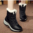 Women Boots Waterproof Winter Snow Boots Platform Warm Ankle Winter Boots With Thick Fur