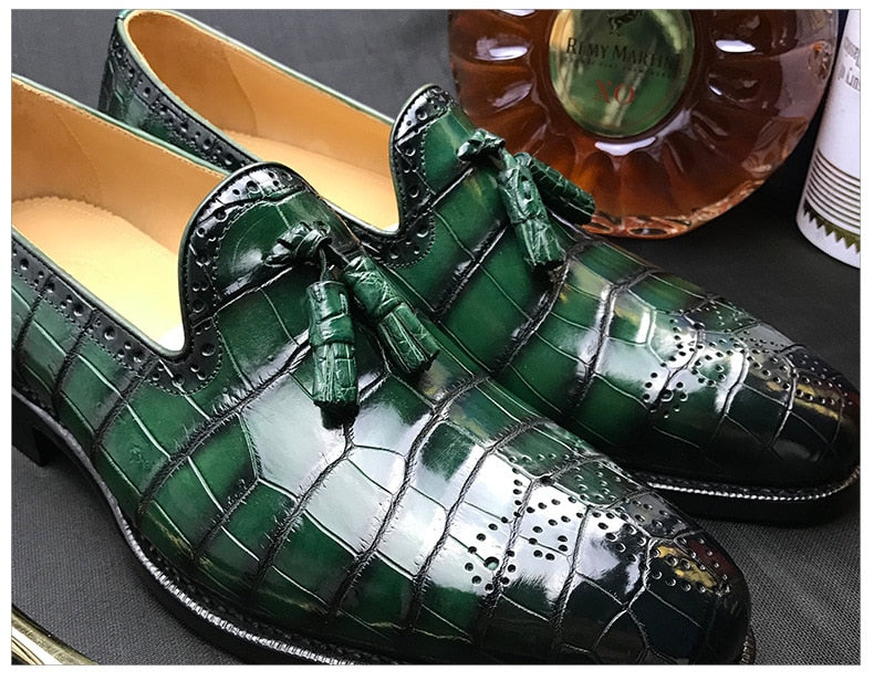 Men Shadow Patent Leather Luxury Fashion Groom Wedding Shoes Oxford Shoes