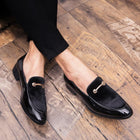 Men Dress Shoes Shadow Patent Leather Luxury Fashion Italian Style Oxford Shoes