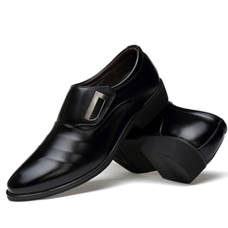 Men England Trend Leisure Leather Breathable Footwear Men Flats Loafers Shoes