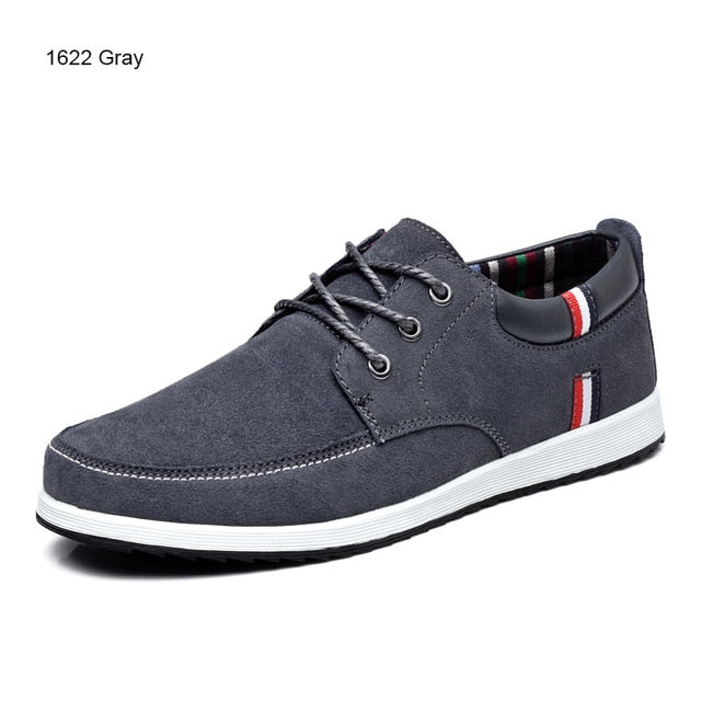 Men's Leather Casual Shoes Moccasins Men Loafers Luxury Brand Spring New Fashion Sneakers Male Boat Shoes