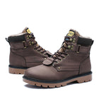 Plus Size Men's Fur Ankle Boots High Quality Plush Outdoor Work Casual Shoes