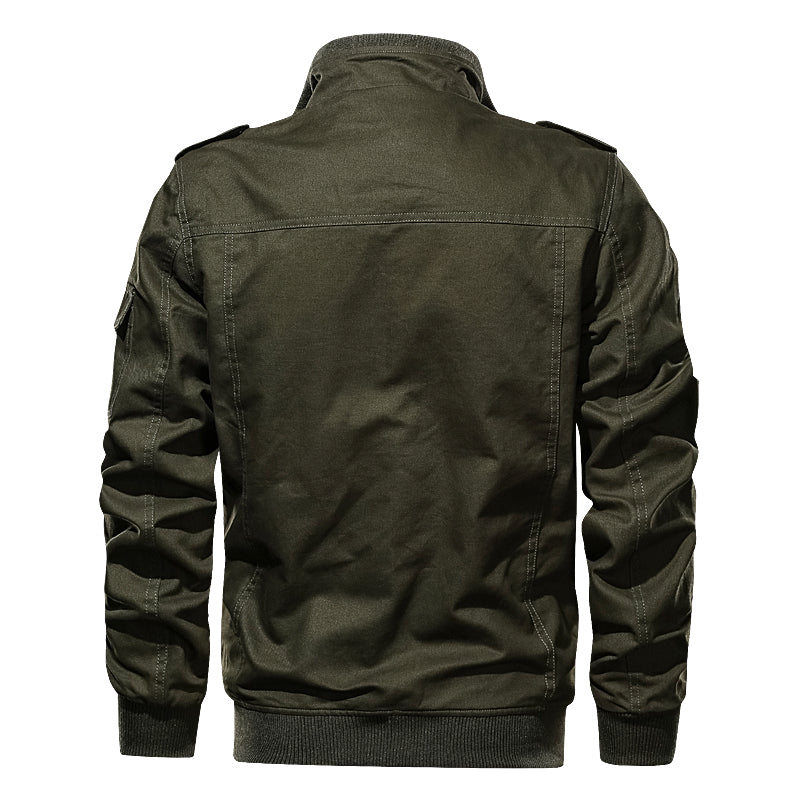 Cotton Military Jacket Men MA-1 Style Army Jackets Multi Pocket Men's Bomber Jackets Plus Size M-6XL