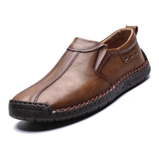 Men Shoes Quality Leather Shoes New Men Flats Hot Sale Moccasins Shoes