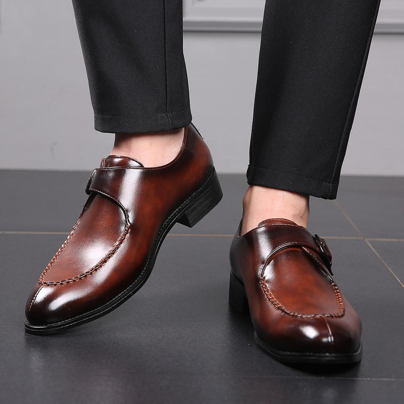 Men Dress Shoes High Quality Italian Designer Oxford Shoes