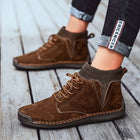 Men Casual Shoes High Top Boots Shoes Fashion Outdoor Army Travel Botas Hombre Sock Man Brithsh Sneaker