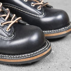 Vintage Cowhide Mens Ankle Boots Casual Lace Up Round Toe Genuine Leather Unisex Cargo Shoes Plus Size