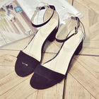 Corachic.com - Summer Women Gladiator Buckle Strap Cover Heel Chunky Sandals