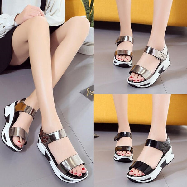 Women Wild Tide Casual Sandal Beach Shoes Flats Slippers Shoes