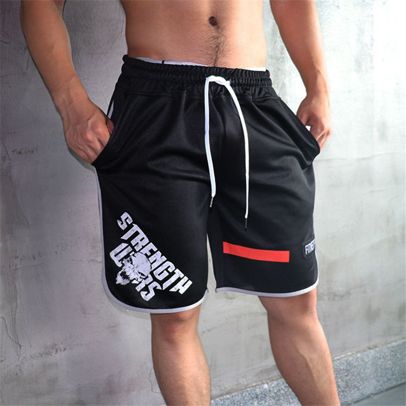 Men's Large Size Summer Shorts Polyester Casual Beach Vacation Shorts