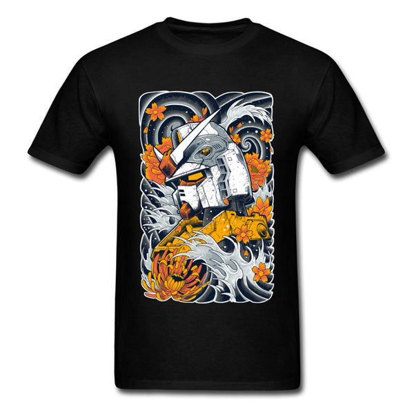 Men's Art Design Vintage Cartoon Tops Tee Summer Funky Streetwear