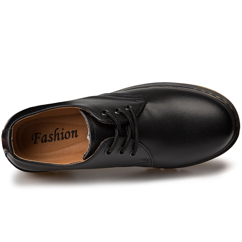 Men's Oxford Shoes Top Quality Dress Shoes Men Flats Fashion Genuine Leather Casual Shoes Work Shoes
