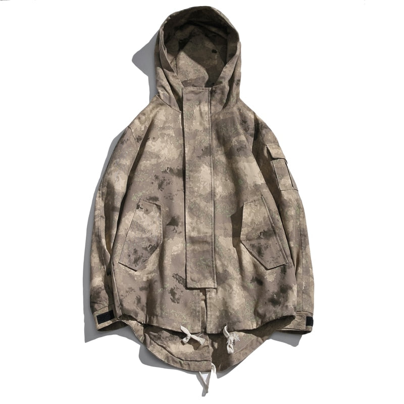 Military Black Jacket Men Camouflage Army Tactical Clothing Safari Hoode Jacket Hombre Modis Coat