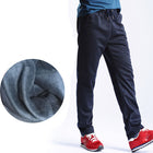 Men's Winter Pants Thick Fleece Jogger Straight Pants Velvet Sweatpants Men Joggers Casual Pants