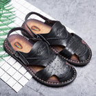Men Outdoor Beach Sandal Shoes Slippers Walking Sneakers Rome Rubber Sole Shoes