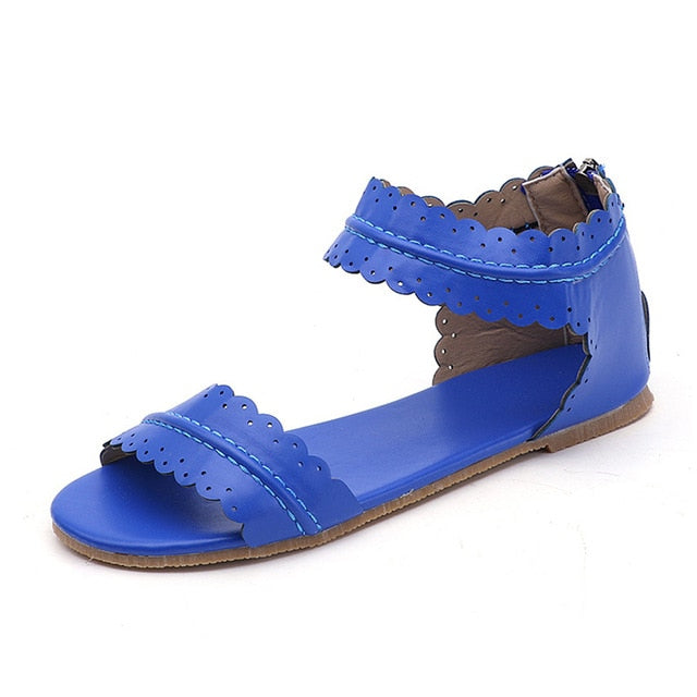 Women Beach Vacation Big Size 43 Edges Sandals Comfortable Leisure Casual Shoes