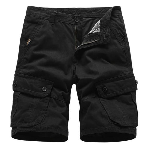 Men's Summer Cargo Shorts Multi-Pocket Cotton Army Military Tactical Shorts