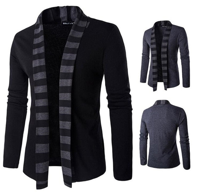 Mens Sweaters Long Sleeve Cardigan Male Pull Style Cardigan Fashion Casual Men Knitwear Sweater Coats