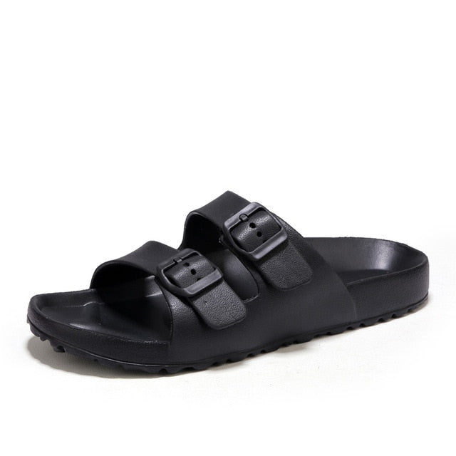 Men's Breathable Sandals Slip On Summer Beach Sandals Shoes