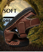 Leather Outdoor Men's Sandals Casual Classic Water Walking Beach Sneakers Sandals