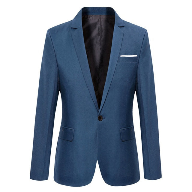 Men Blazers 2019 Autumn Men's Tuxedos For Formal Occasions Coat Male Custom Men's Business Blazers