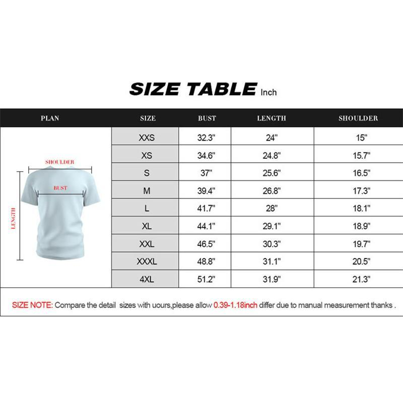 Men's Cool T-shirt Short Sleeve Tops Fake Muscle 3D Printing Streetwear Tees