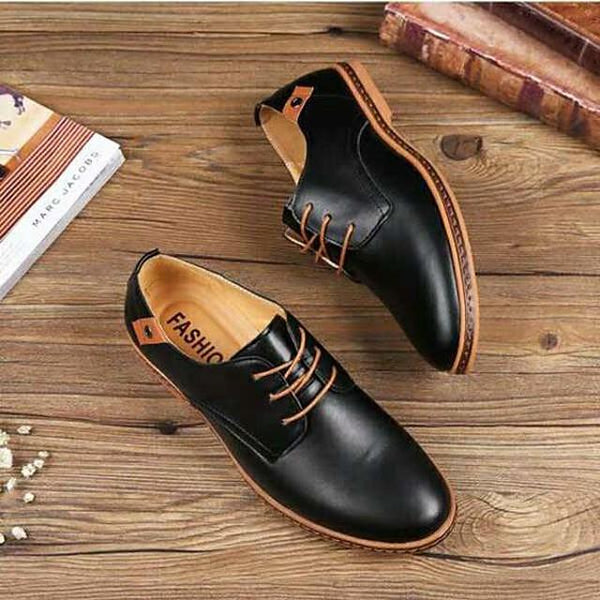 Men's Derby Shoes Spring / Summer / Fall Vintage / British Daily Outdoor Office & Career Oxfords Golf Shoes PU Non-slipping Wear Proof Booties / Ankle Boots Yellow / Black / Dark Blue