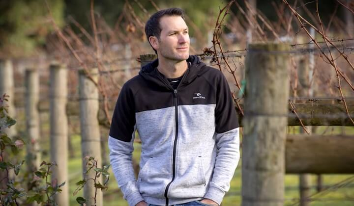 Winemaker Shaun Crinion