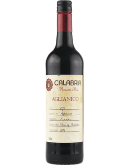 2016 Calabria Private Bin Aglianico