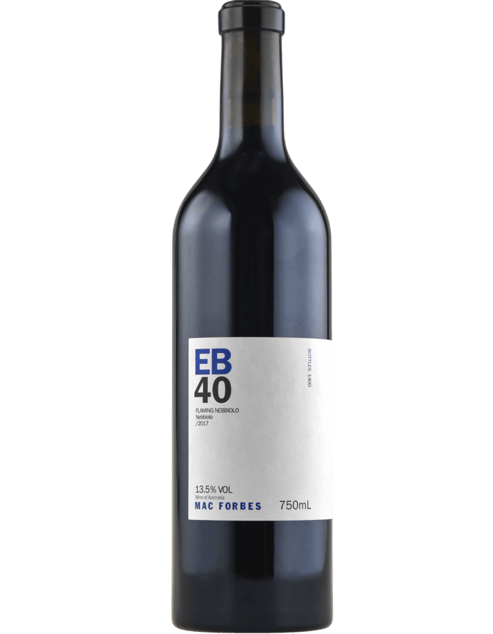 2017 Mac Forbes EB40 Flaming Nebbiolo