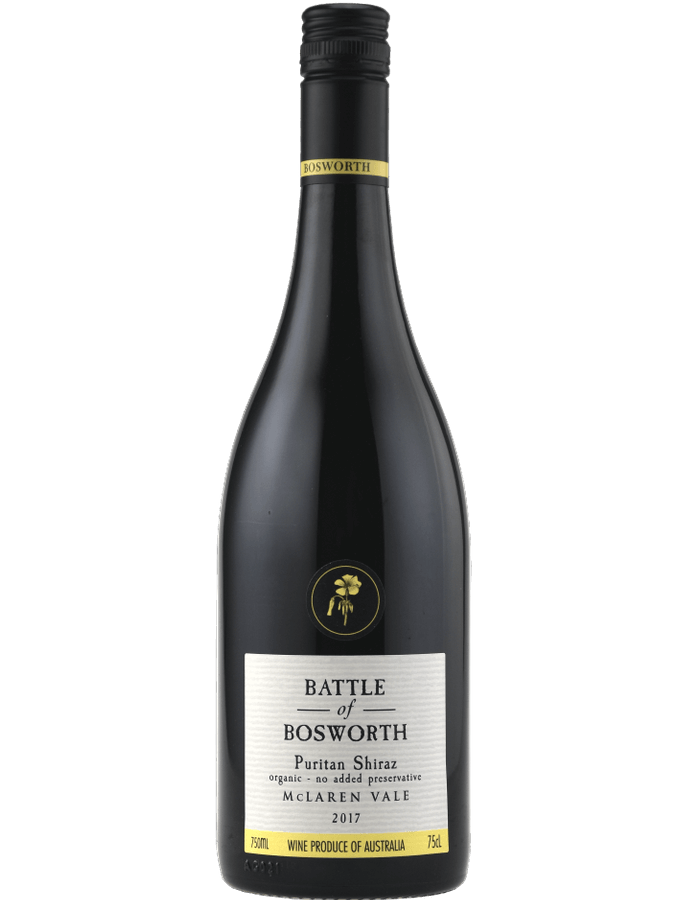 2017 Battle of Bosworth Puritan Shiraz