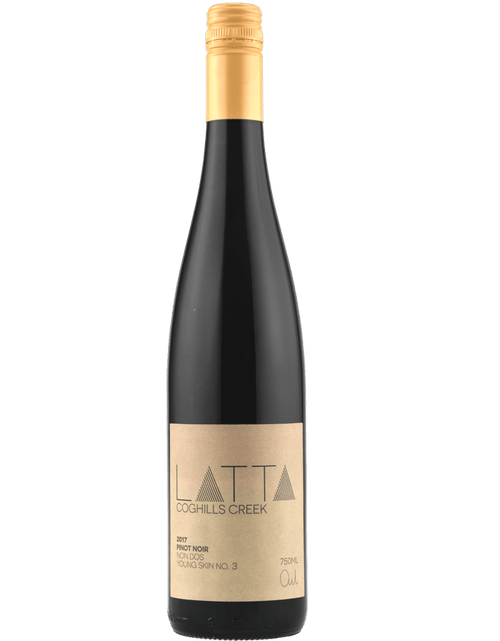 2017 Latta Coghills Creek Pinot Noir Zero SO2