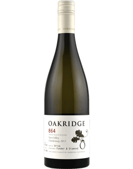 2017 Oakridge 864 Funder & Diamond Drive Block Chardonnay