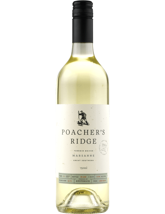 2017 Poacher's Ridge Marsanne