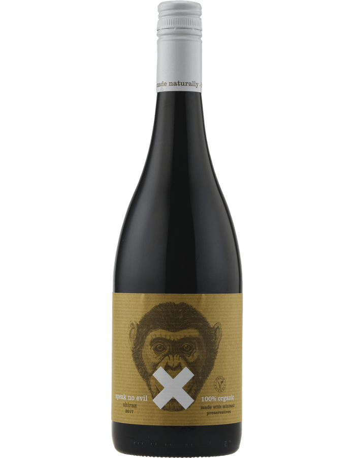 2017 Speak No Evil Organic Shiraz