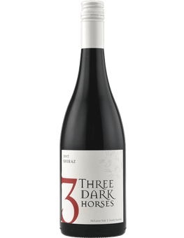 2017 Three Dark Horses Shiraz