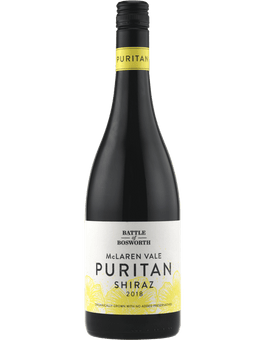 2018 Battle of Bosworth Puritan Shiraz