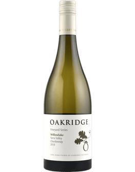2018 Oakridge Willowlake Vineyard Chardonnay
