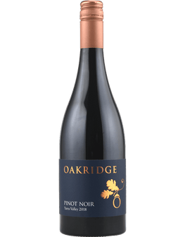 2018 Oakridge Yarra Valley Pinot Noir