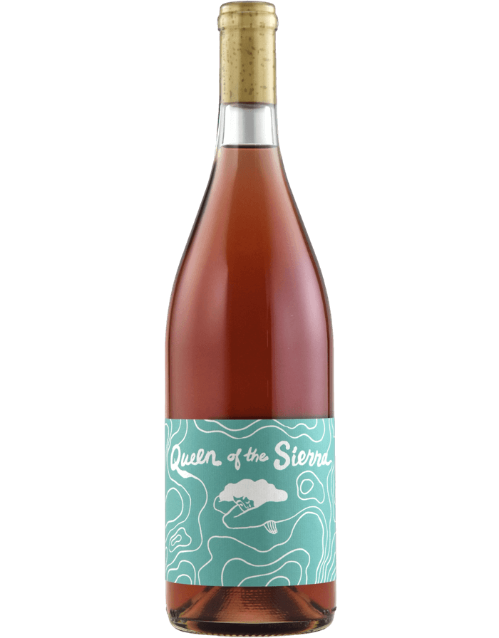 2019 Queen Of The Sierra Estate Rose Wine