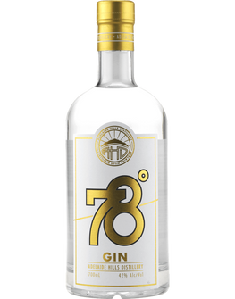 Adelaide Hills Distillery 78 Degrees Small Batch Gin
