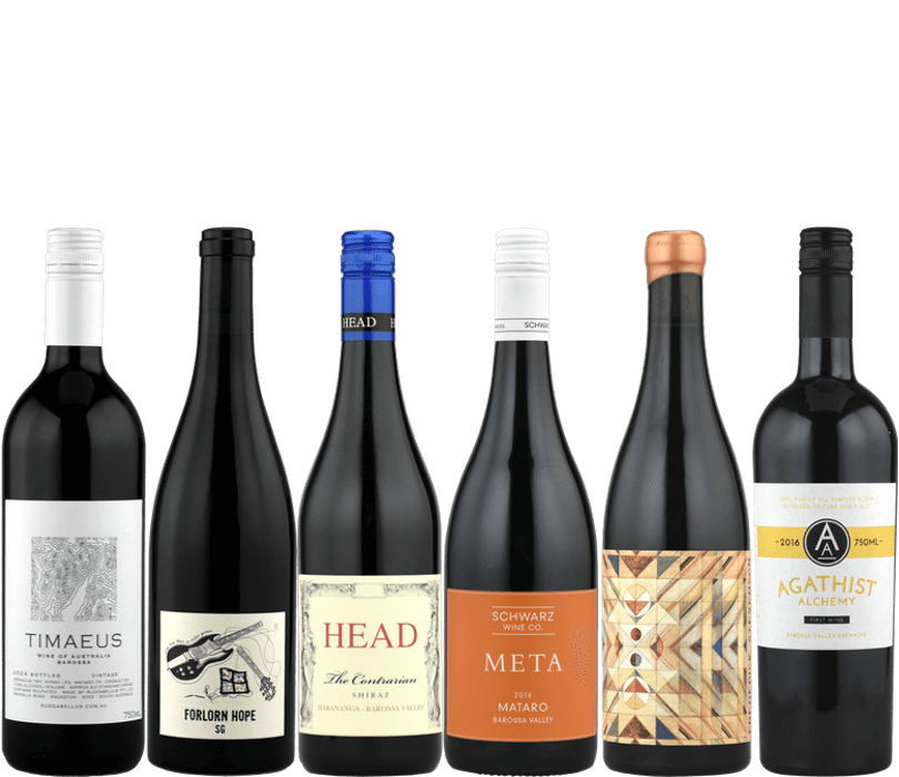Barossa Valley Unleashed Reds Pack