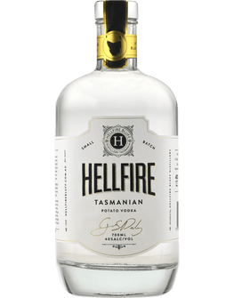 Hellfire Tasmanian Potato Vodka 700ML