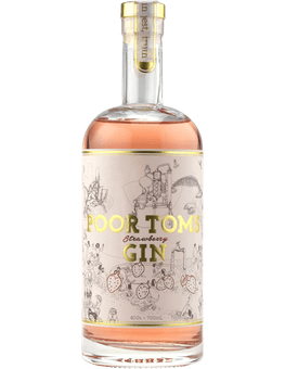 Poor Tom's Strawberry Gin