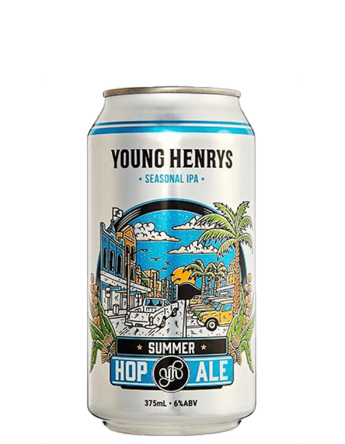 Young Henrys Summer Hop Ale Cans Carton
