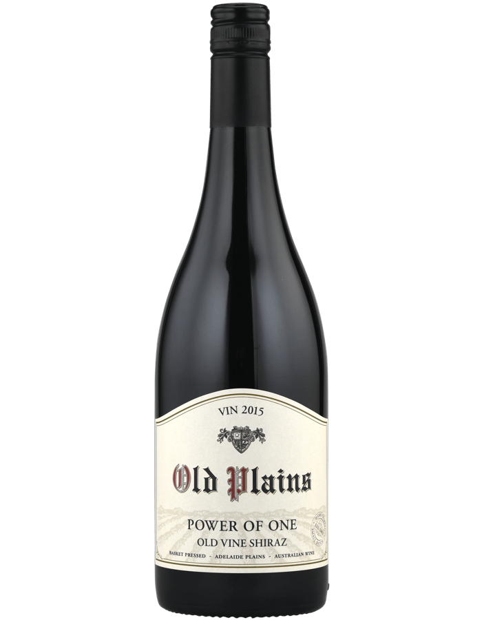2015 Old Plains Power of One Shiraz