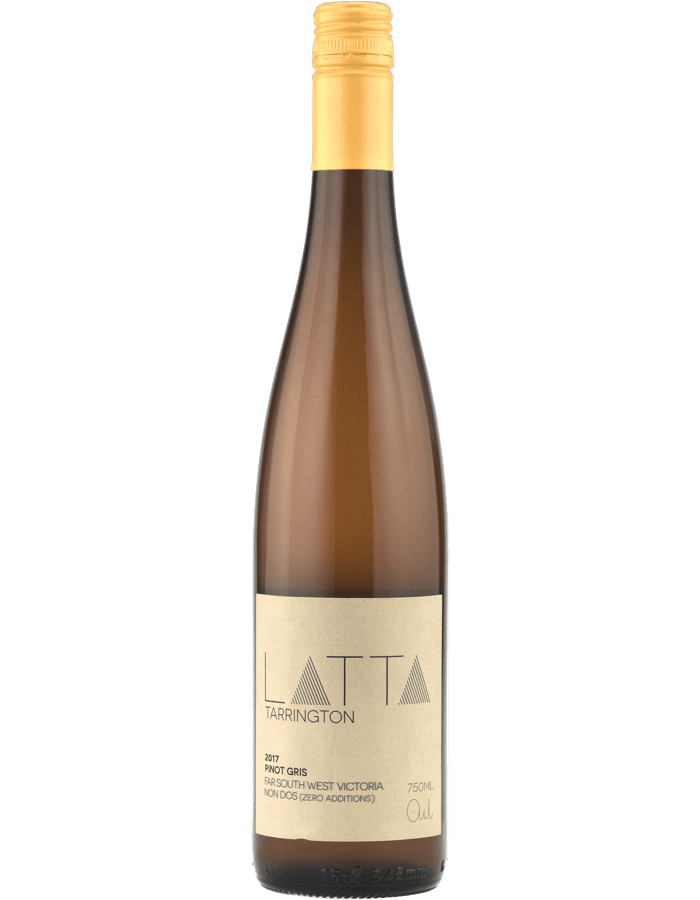 2017 Latta Tarrington Pinot Gris Zero SO2