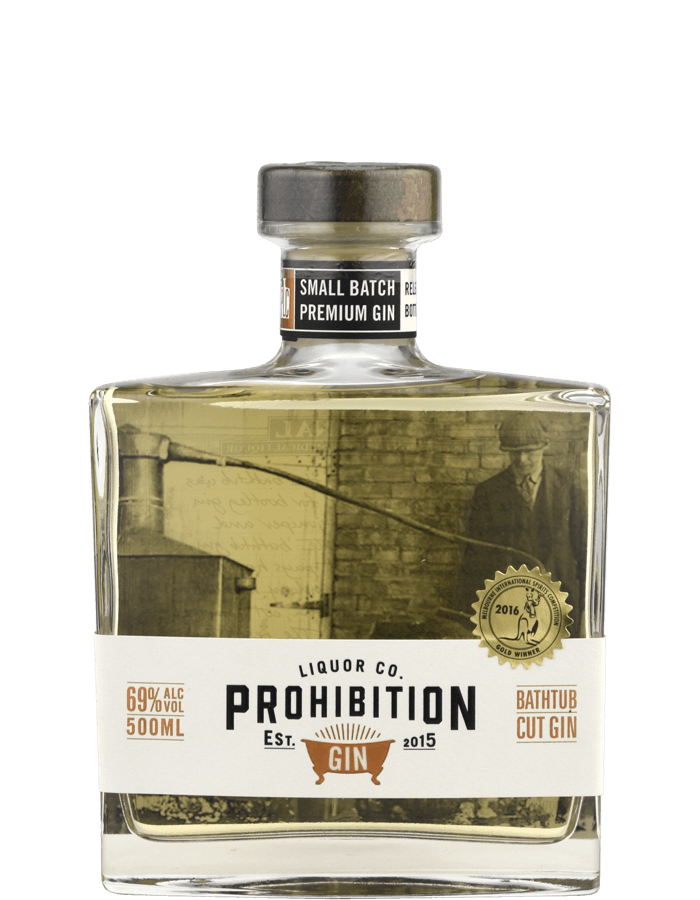 Prohibition Liquor Co. Bathtub Cut 500ml