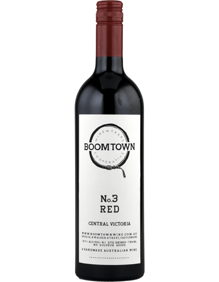 2017 Boomtown No.3 Red